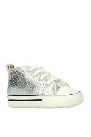 Ctas First Star Hi baby sneakers zilver