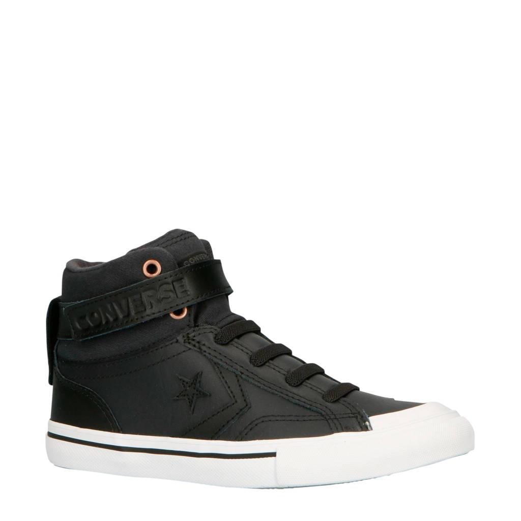 Converse  Pro Blaze STrap Hi sneakers antraciet/wit, Antraciet/wit