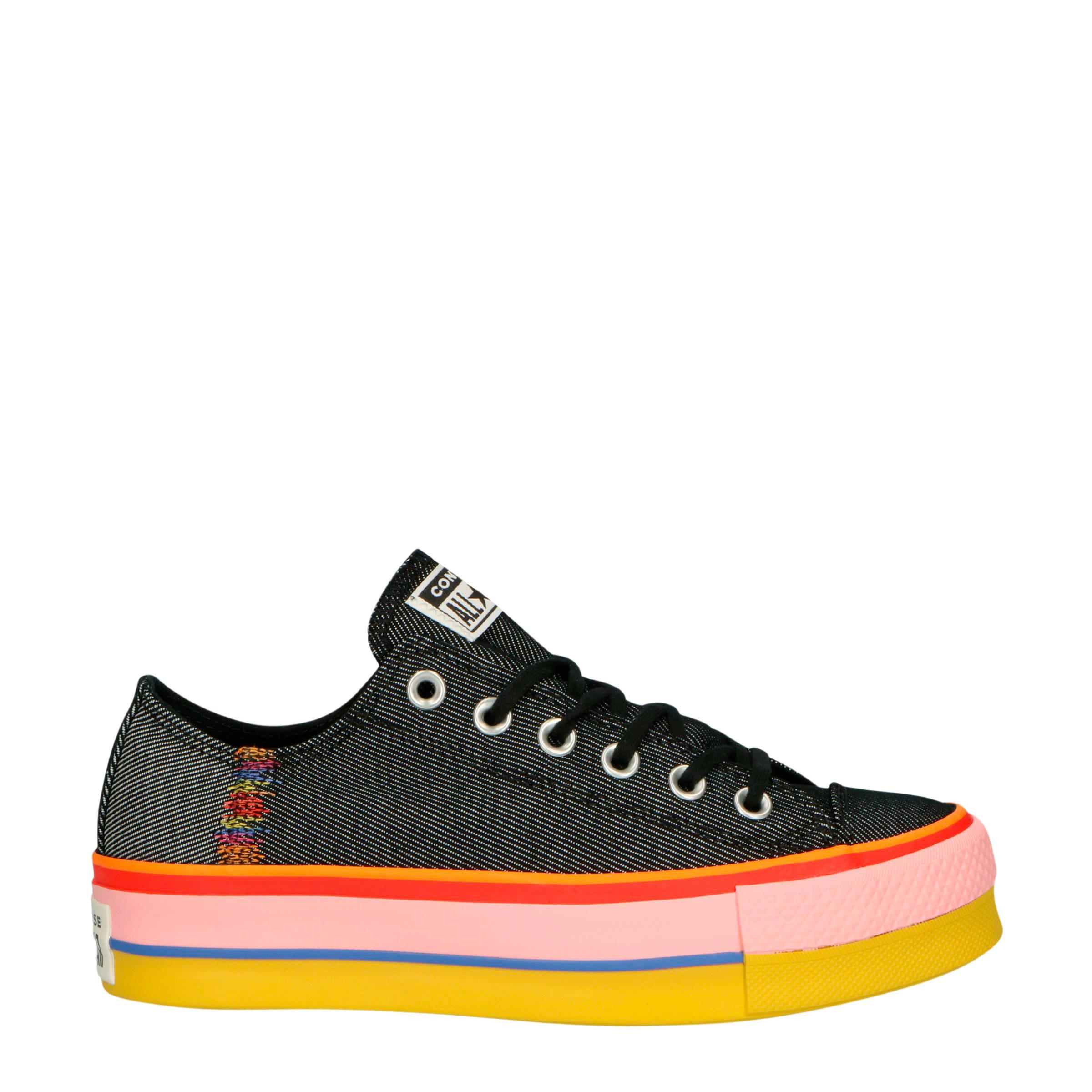 Zwarte CONVERSE Sneakers CHUCK TAYLOR ALL STAR OX DAMES | Omoda