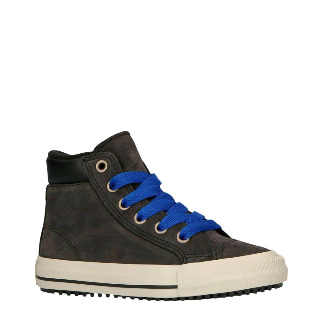 Converse  Ctas PC Boot 2V Hi suede sneakers antraciet/kobaltblauw, Antraciet/kobaltblauw
