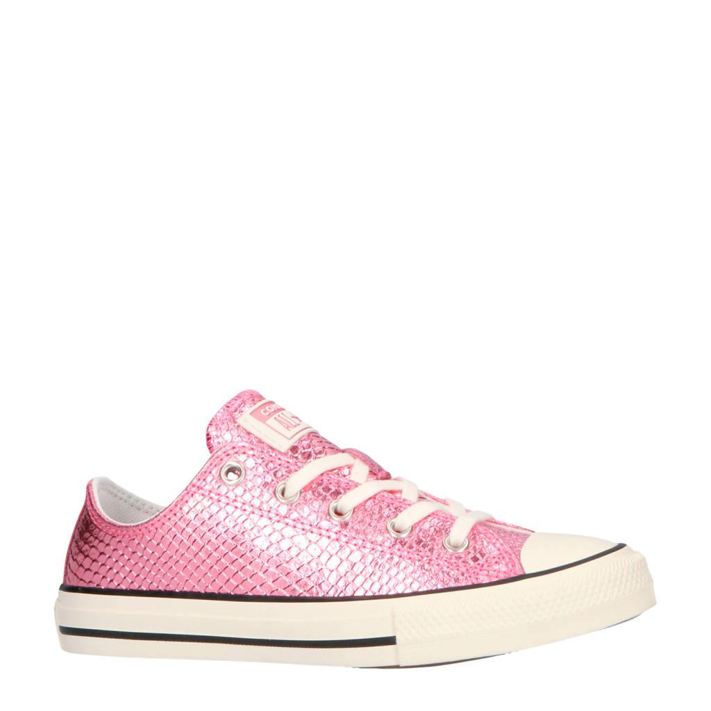 Converse  Chuck Taylor All Star OX sneakers metallic roze, Metallic roze