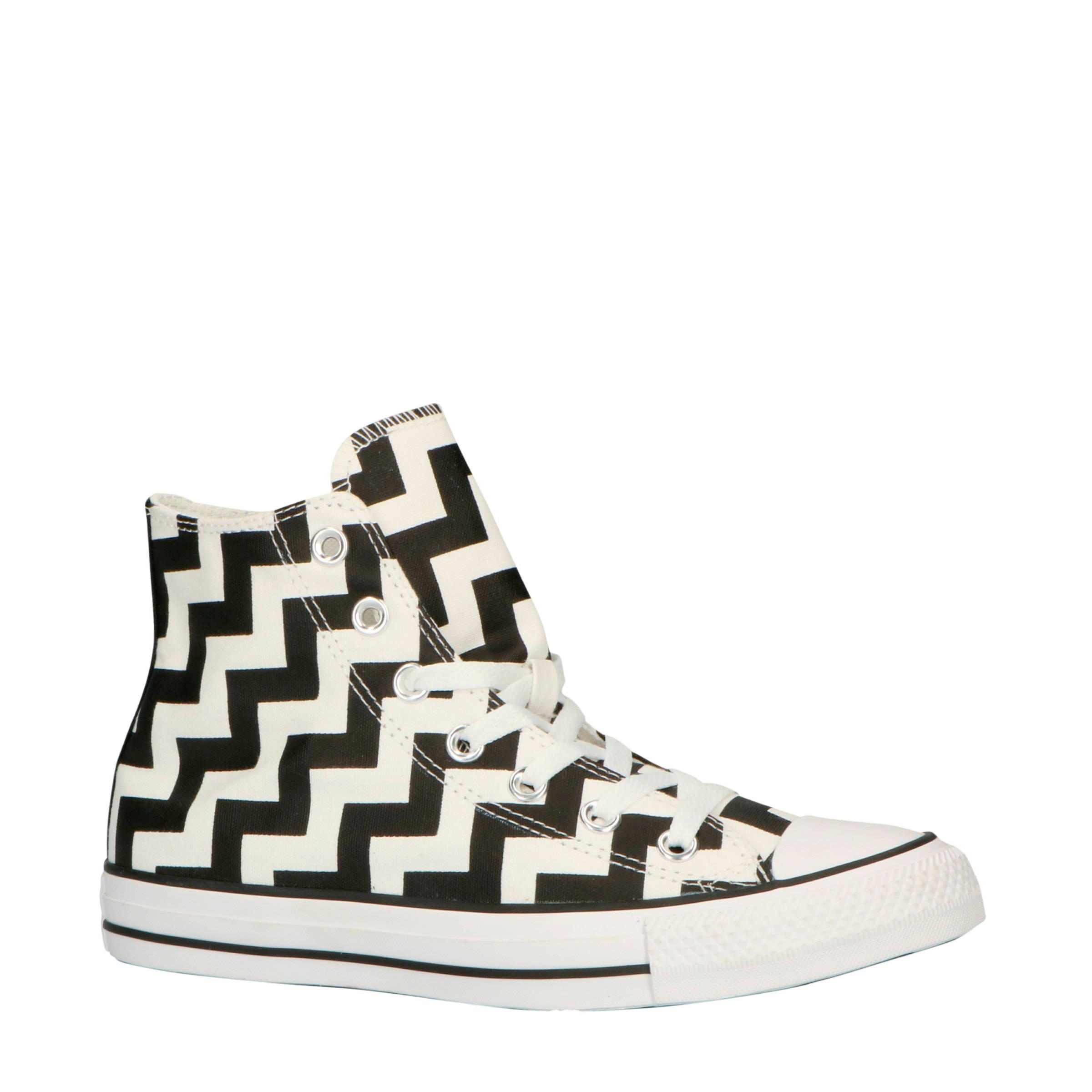 Converse Chuck Taylor All Star Hi sneakers zwartwit | wehkamp