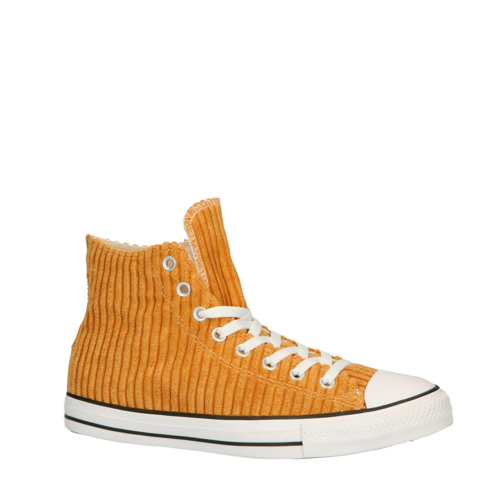 Converse  Chuck Taylor All Star Hi sneakers mosterdgeel, Mosterdgeel