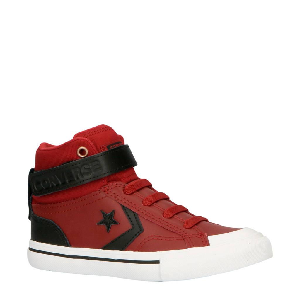 Converse  Pro Blaze STrap Hi sneakers donkerrood/zwart, Donkerrood/zwart