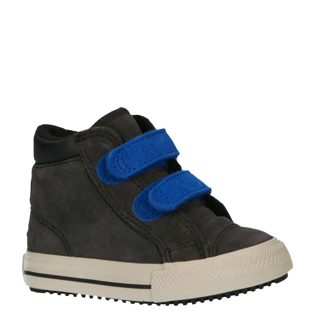 Converse  Ctas PC Boot 2V Hi suede sneakers antraciet/kobaltblauw, Antraciet/cobaltblauw