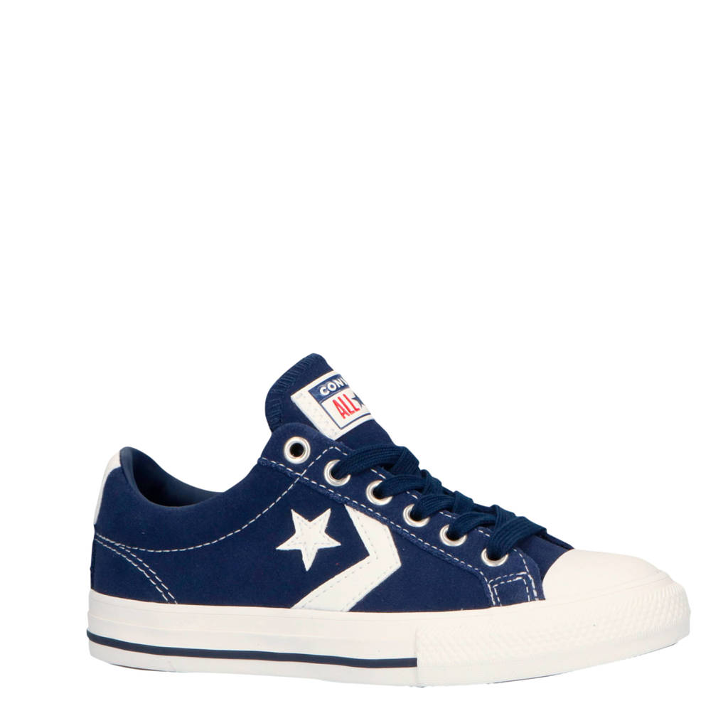 Converse  Star Player EV OX sneakers donkerblauw/wit, Donkerblauw/wit