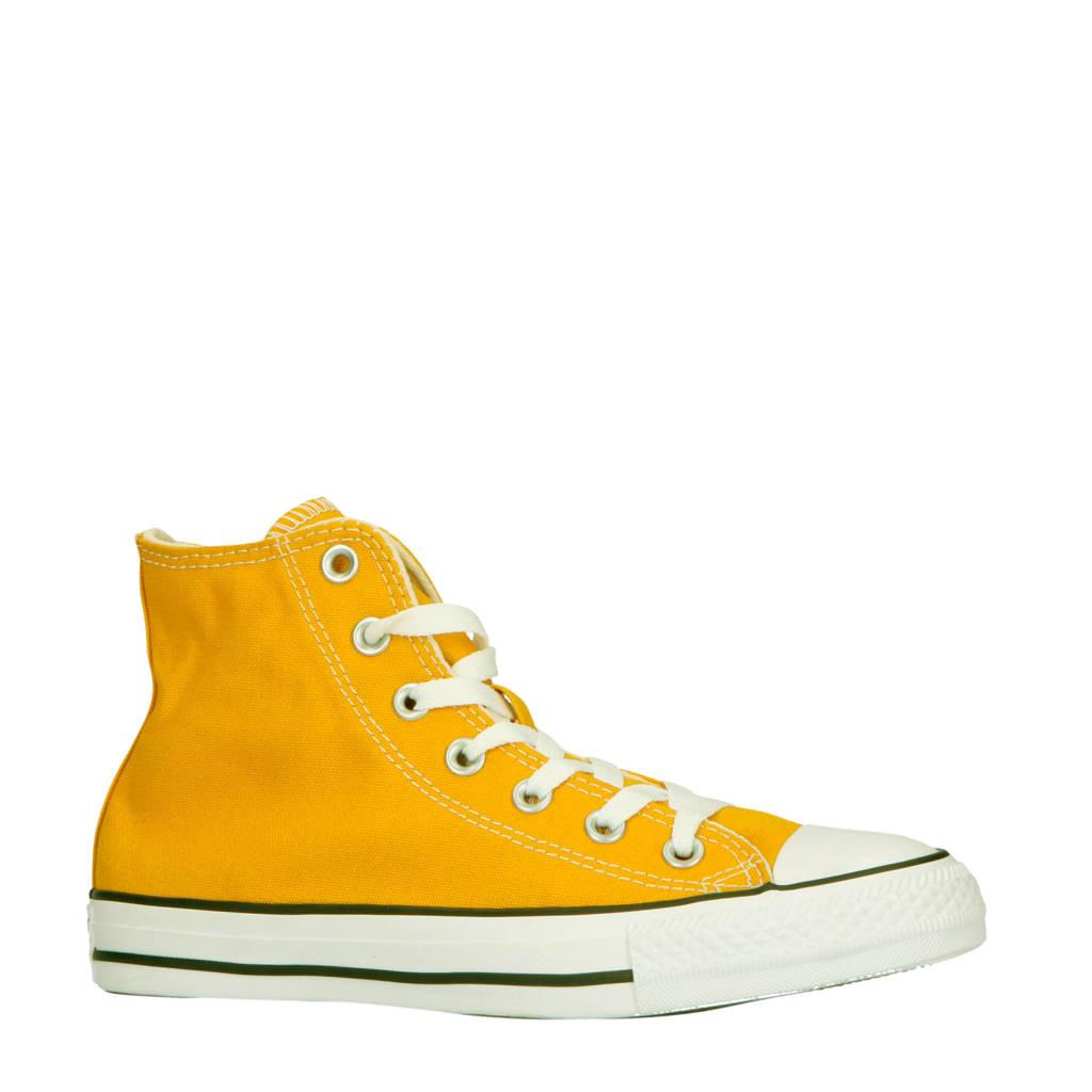 Converse  Chuck Taylor All Star Classic Hi sneakers okergeel, Okergeel