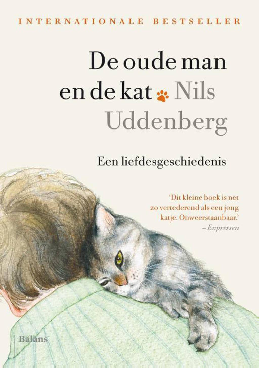 De oude man en de kat - Nils Uddenberg