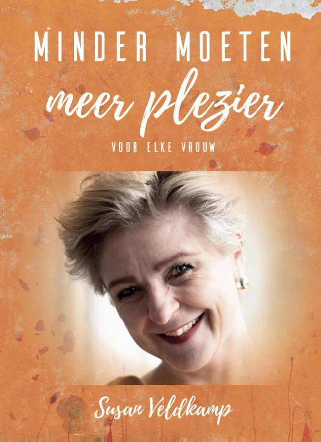 Minder moeten meer plezier - Susan Veldkamp