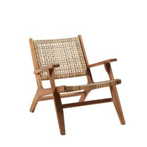 rieten fauteuil Grignoon