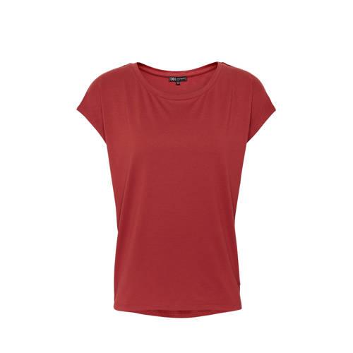 Didi T-shirt roodbruin