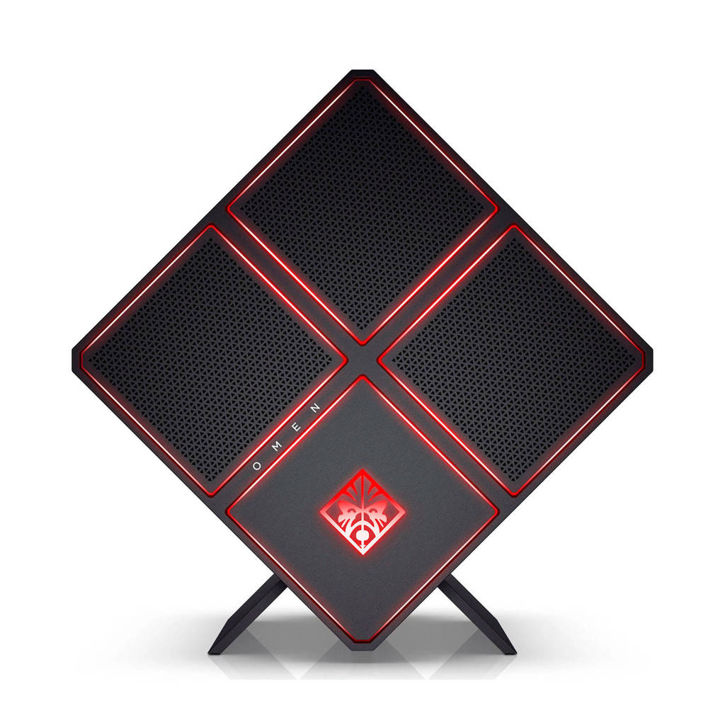 HP PC Omen X 900-290nd gaming computer, Zwart
