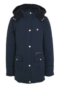 Indian Blue Jeans parka donkerblauw, Donkerblauw
