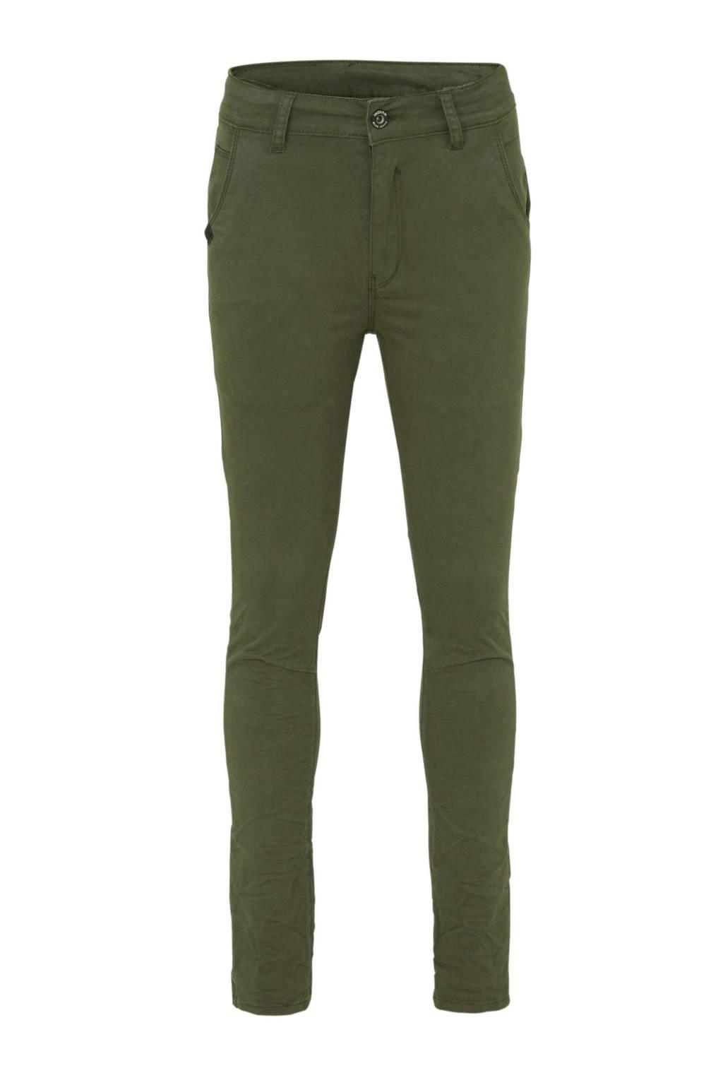 Indian Blue Jeans skinny broek army groen, Army groen