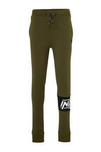 Indian Blue Jeans skinny broek met tekst army, Army