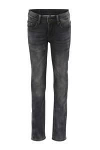 Indian Blue Jeans skinny jog denim Ryan verwassen zwart, Verwassen zwart