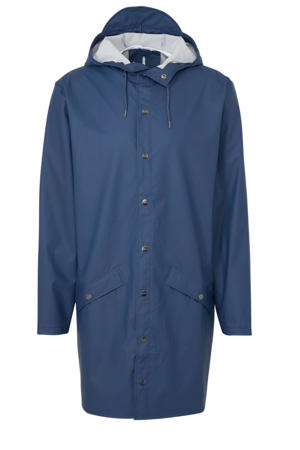 regenjas 1202 long jacket blauw