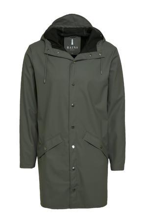 regenjas 1202 long jacket charcoal