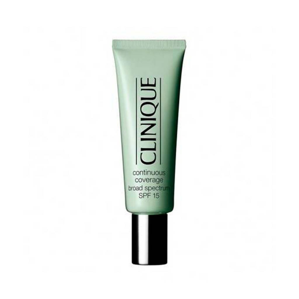 Clinique Continuous Coverage Makeup SPF15 foundation - 08 Creamy Glow