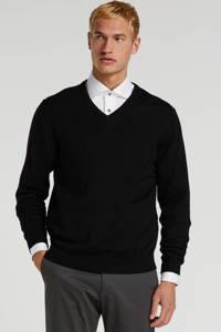 Profuomo wollen trui zwart, Zwart