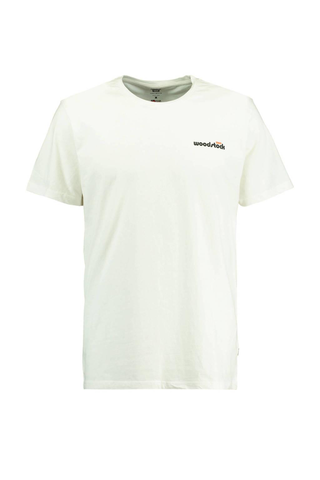 America Today T-shirt met printopdruk, Wit