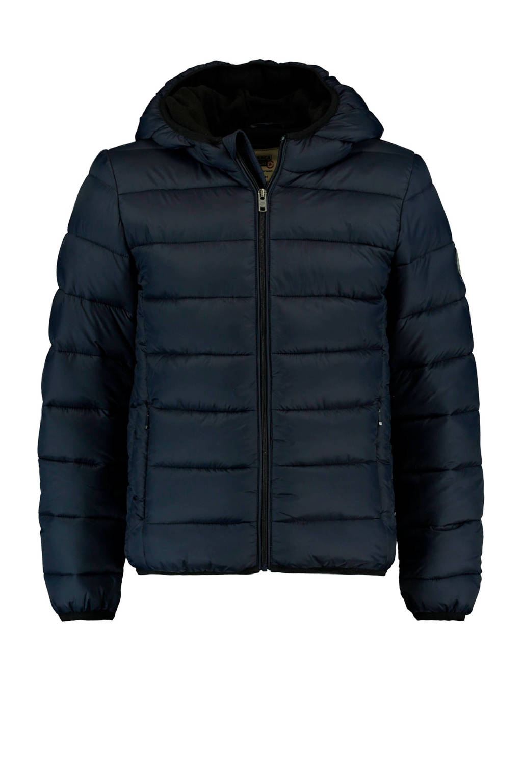 America Today Junior winterjas donkerblauw Jeremy, Antraciet
