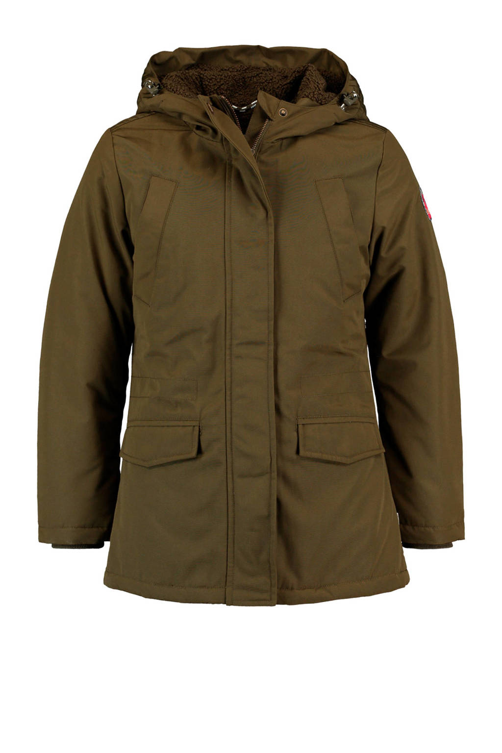 America Today Junior parka Jony army groen, Army groen