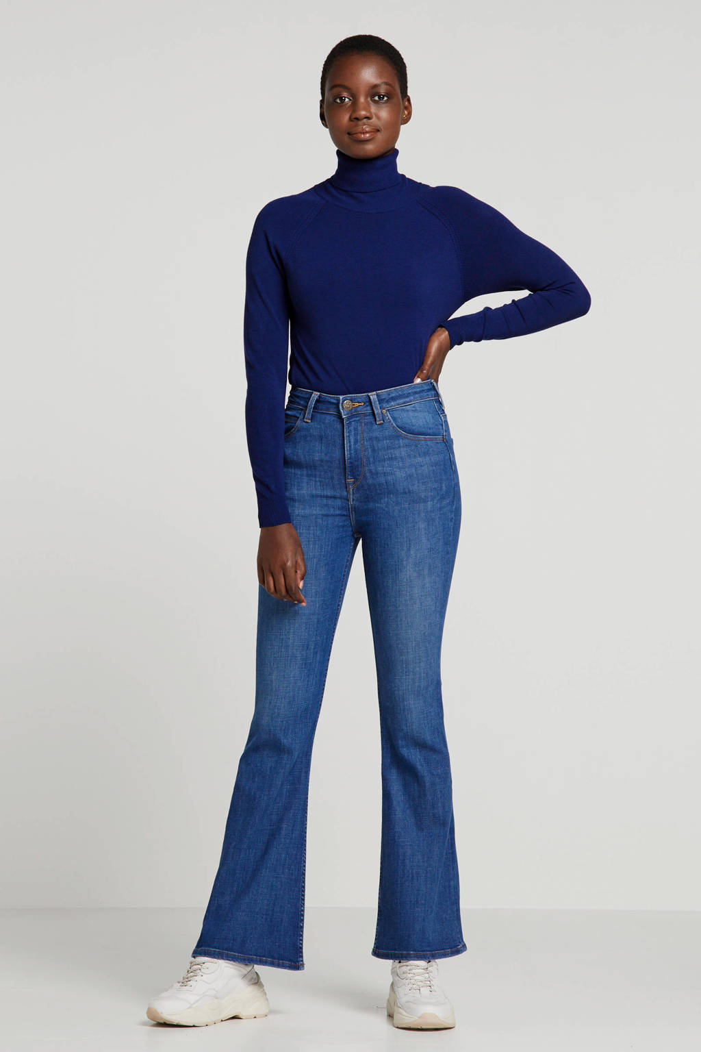 Lee flared jeans Breese, Blauw