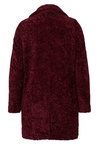 imitatiebont coat rood