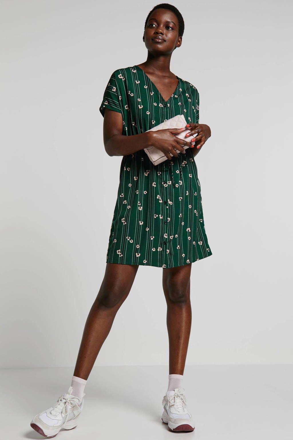 VERO MODA blousejurk met all over print groen, groen multi