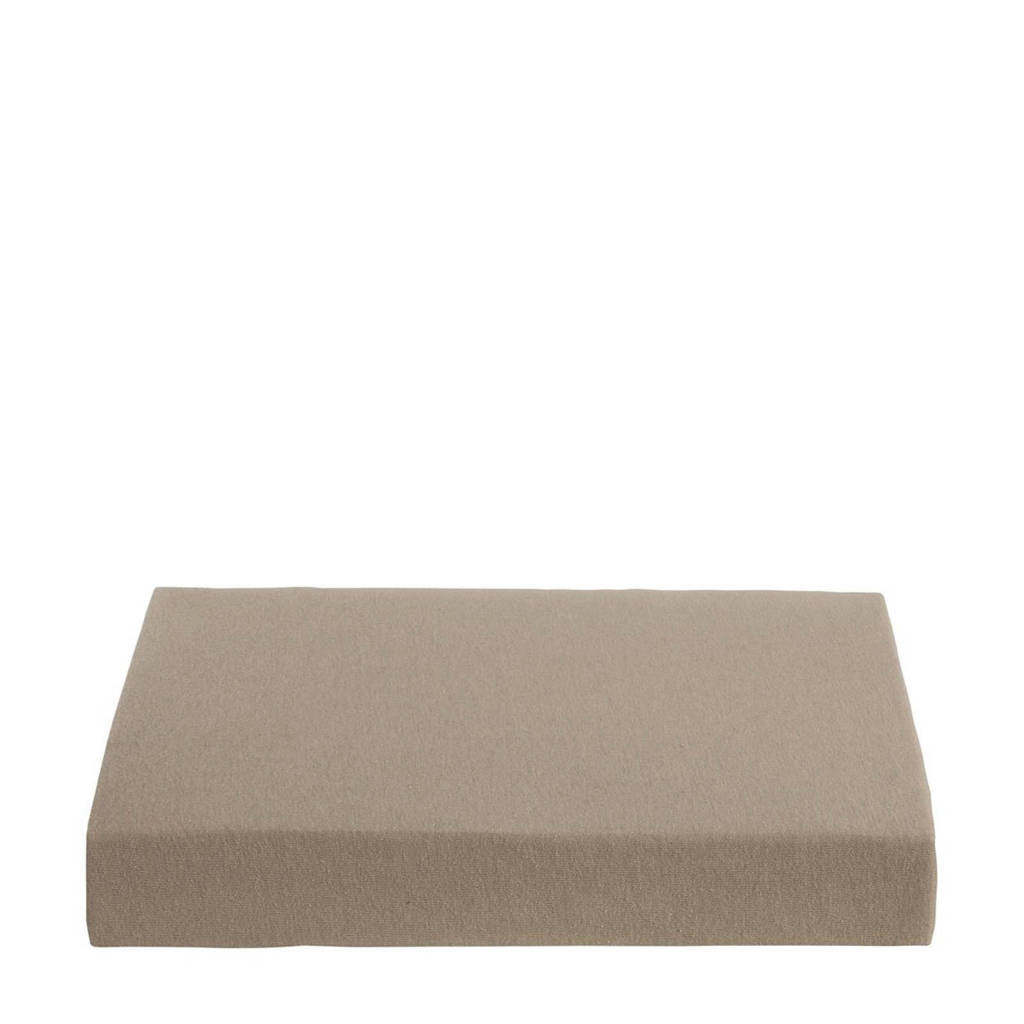 Ambiante jersey hoeslaken Taupe