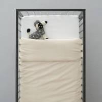 wehkamp home ledikant dekbedovertrek, Ecru, Baby (100 cm breed)