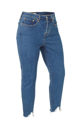 Plus Wedgie high waist skinny jeans