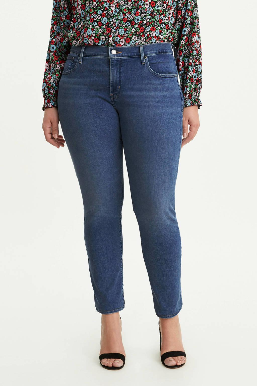 Levi's Plus 311 push-up skinny jeans, Dark denim