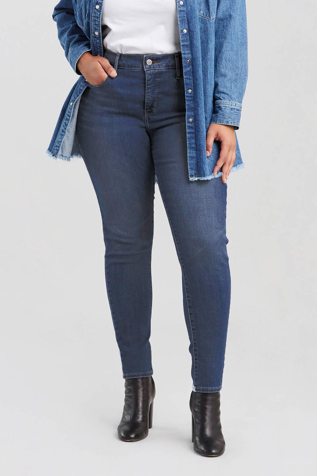 Levi's Plus 310 PL SHAPING SUPER SKINNY skinny jeans, Blauw