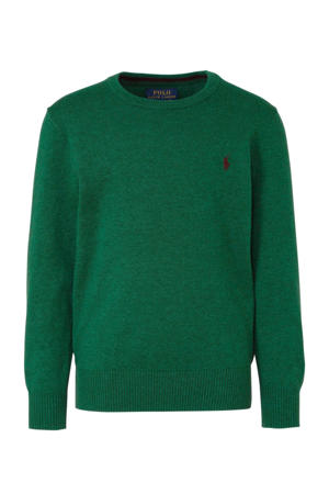 trui met borduursels groen