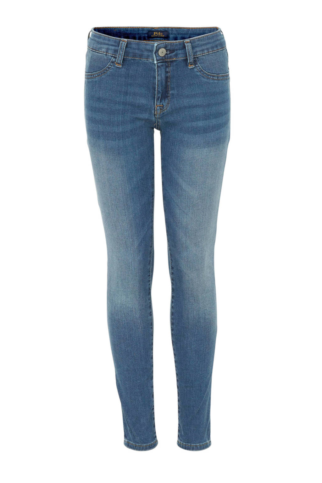 POLO Ralph Lauren skinny jeans Aubrie stonewashed, Stonewashed