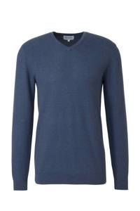Michaelis fijngebreide trui blauw, Blauw