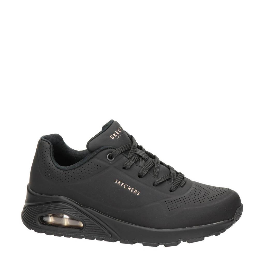 Skechers Stand On Air  sneakers zwart, Zwart zwart