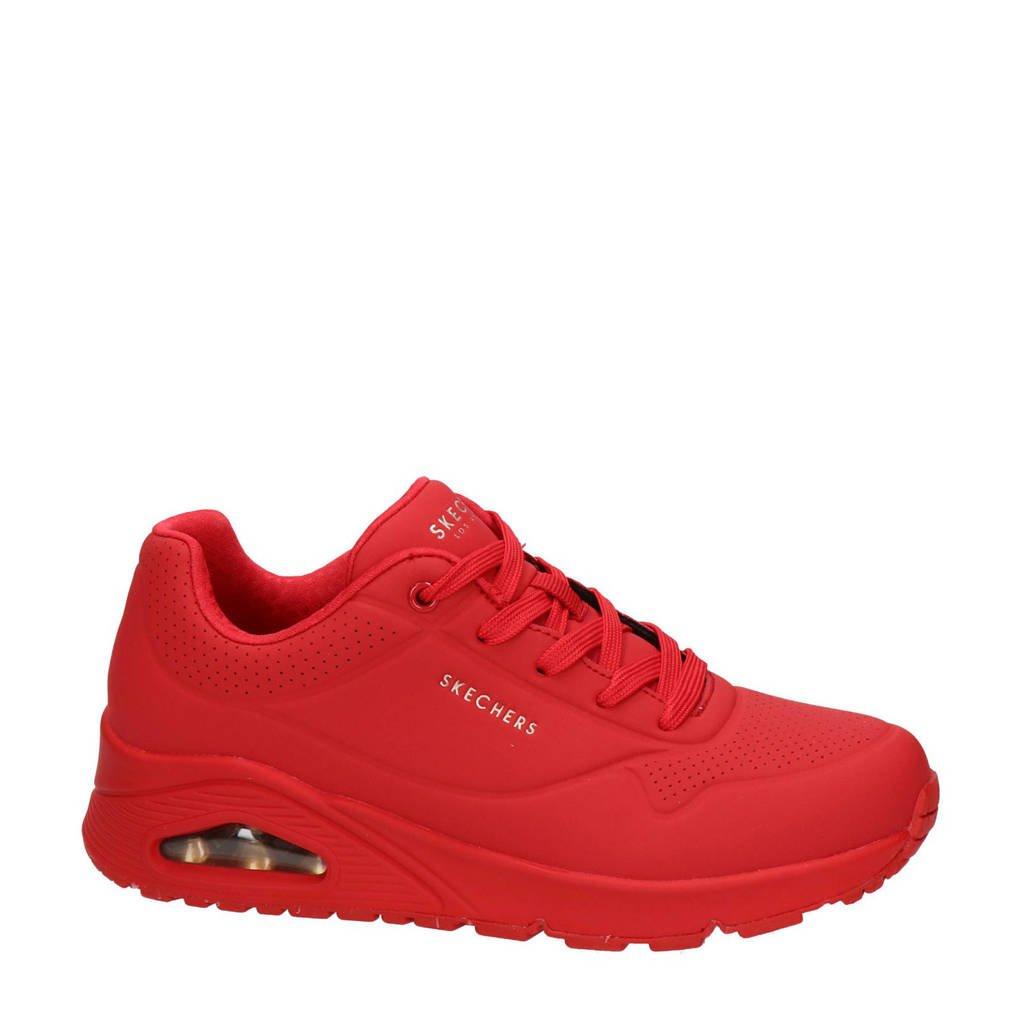 Skechers Stand On Air  sneakers rood, Rood/Koraalrood