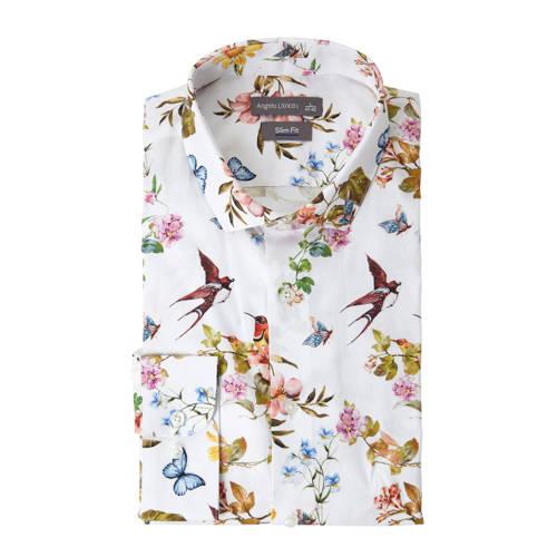 C&A Angelo Litrico slim fit overhemd met bloemenprint