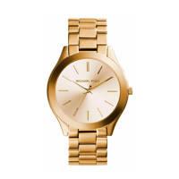 Michael Kors horloge Slim Runway MK3179, Goudkleurig