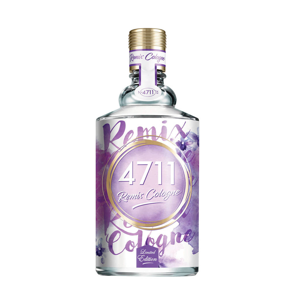 4711 Remix Edition 2019 eau de cologone - 100 ml, Bloemig