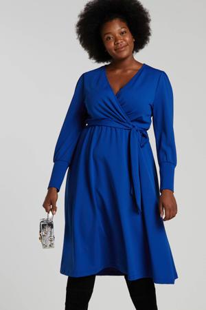 jurk Plus size kobaltblauw