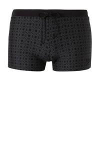 Speedo zwemboxer Valmilton zwart/grijs, Zwart/grijs