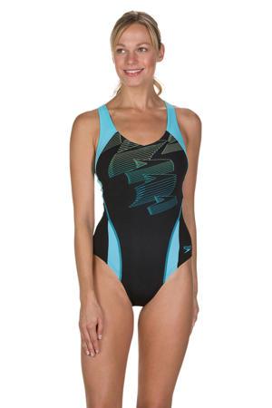 Endurance+ sportbadpak Boom Splice zwart/turquoise