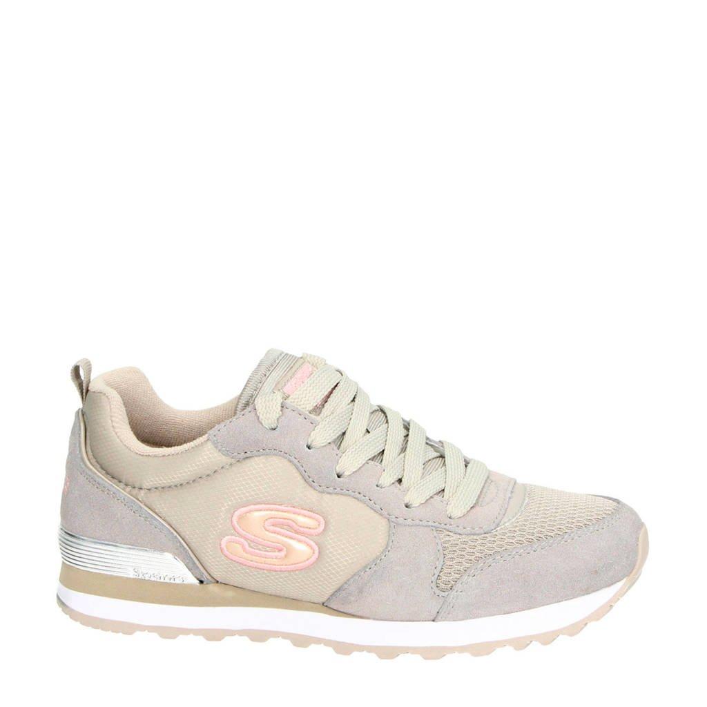 Skechers   sneakers grijs/ecru, Beige/grijs
