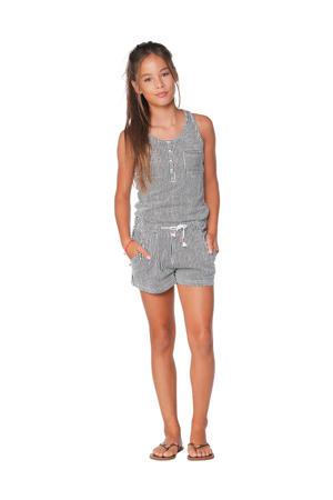 gestreepte jumpsuit Spotane zwart/wit
