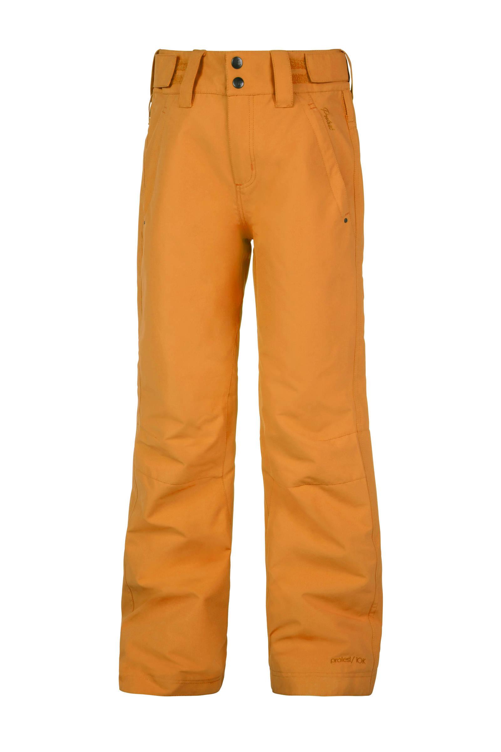 ski broek Jackie Jr geel