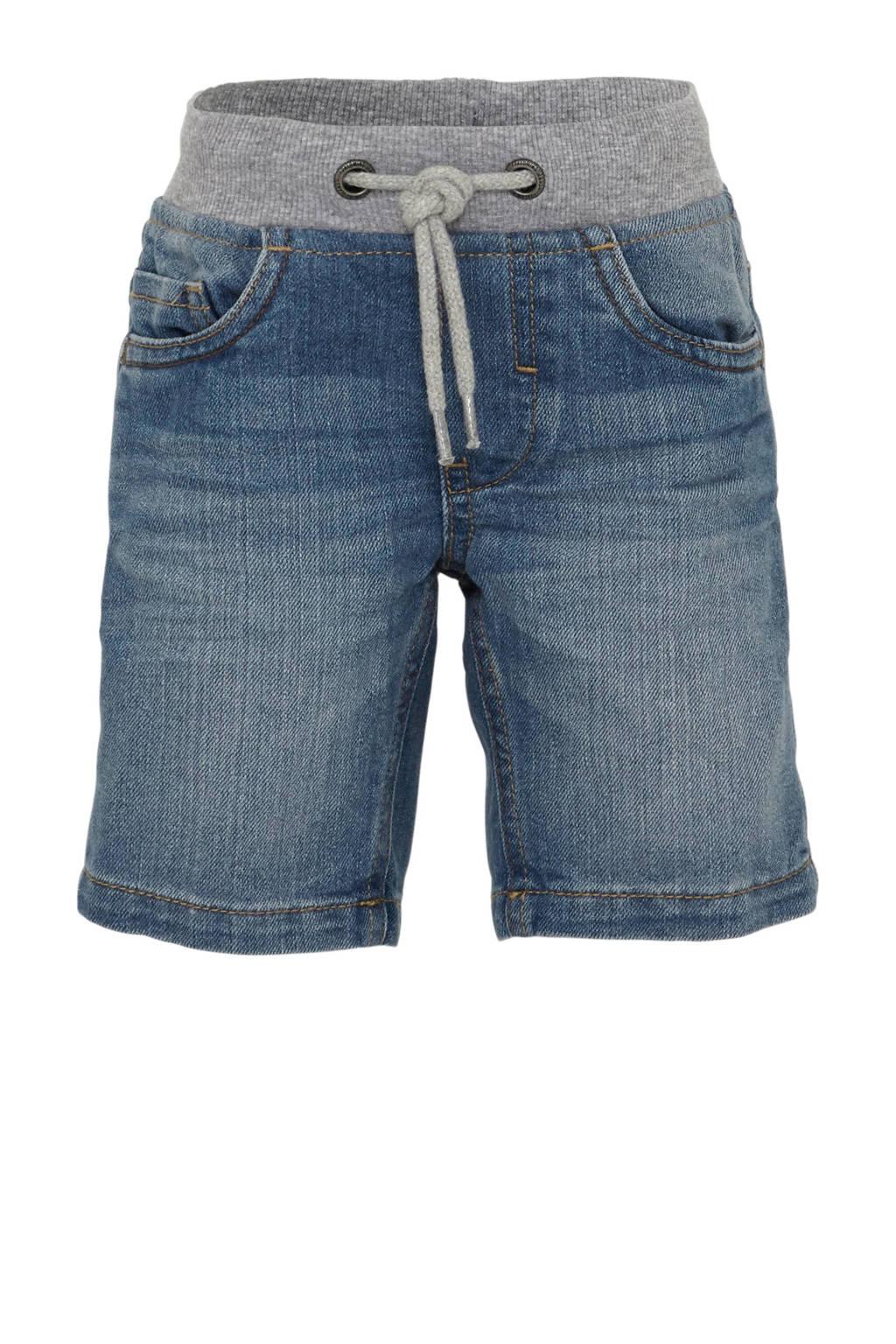 C&A Palomino regular fit jeans bermuda, Blauw
